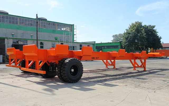Container Chassis Handle : Seacom ag ft terminal chassis for handling of shipping