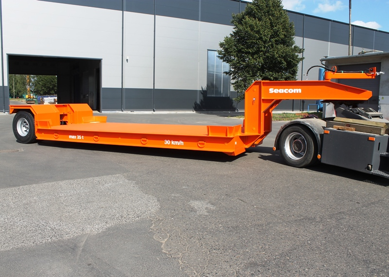 Seacom Trailer Systems Gmbh Roll Trailers Flatbed Trailers